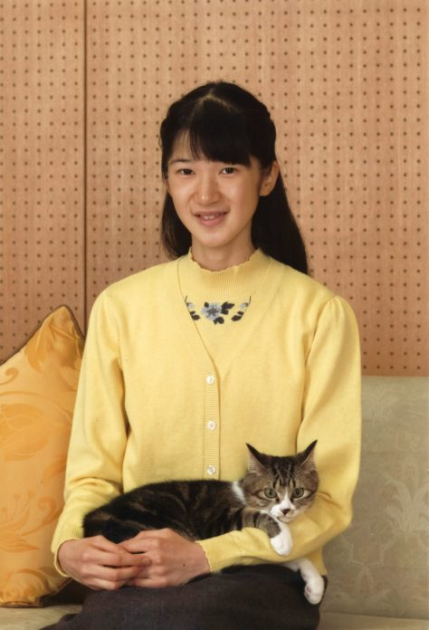 "A handout photo taken on November 23, 2016 and released by the Imperial Household Agency of Japan shows Princess Aiko posing for a photo at Togu Palace in Tokyo. Princess Aiko celebrated her 15th birthday on December 1. / AFP PHOTO / The Imperial Household Agency of Japan / STRINGER / ---EDITORS NOTE--- RESTRICTED TO EDITORIAL USE - MANDATORY CREDIT ""AFP PHOTO / IMPERIAL HOUSEHOLD AGENCY"" - NO MARKETING NO ADVERTISING CAMPAIGNS - DISTRIBUTED AS A SERVICE TO CLIENTS"