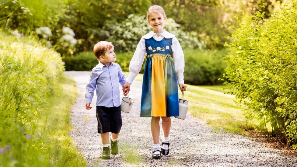 Princess Estelle and Prince Oscar, June 2019