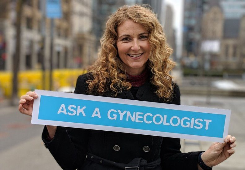 Dr Jennifer Gunter is a obstetrician-gynaecologist and an advocate for women's health