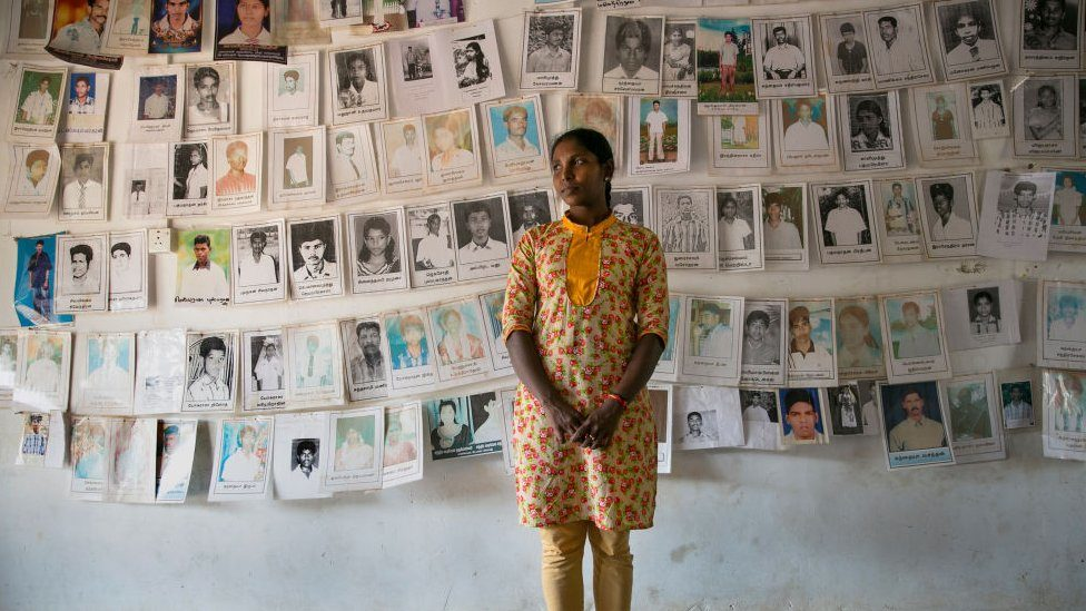 Thousands of people disappeared in Sri Lanka during the civil war