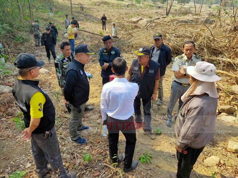 รุกป่ามรดกโลกเขาใหญ่ : เขตอุทยานแห่งชาติเขาใหญ่ พื้นที่ม.14 ต.เนินหอม อ.เมือง จ.ปราจีนบุรี