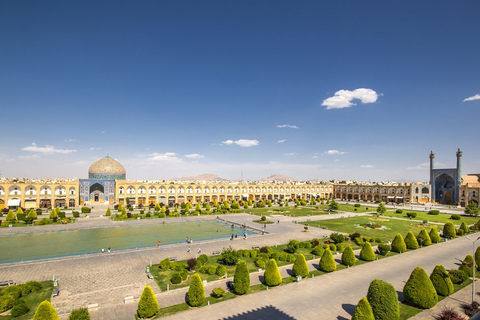 Naqsh-e Jahan Square, known also as Imam Square, is a square situated at the centre of Isfahan city, Iran