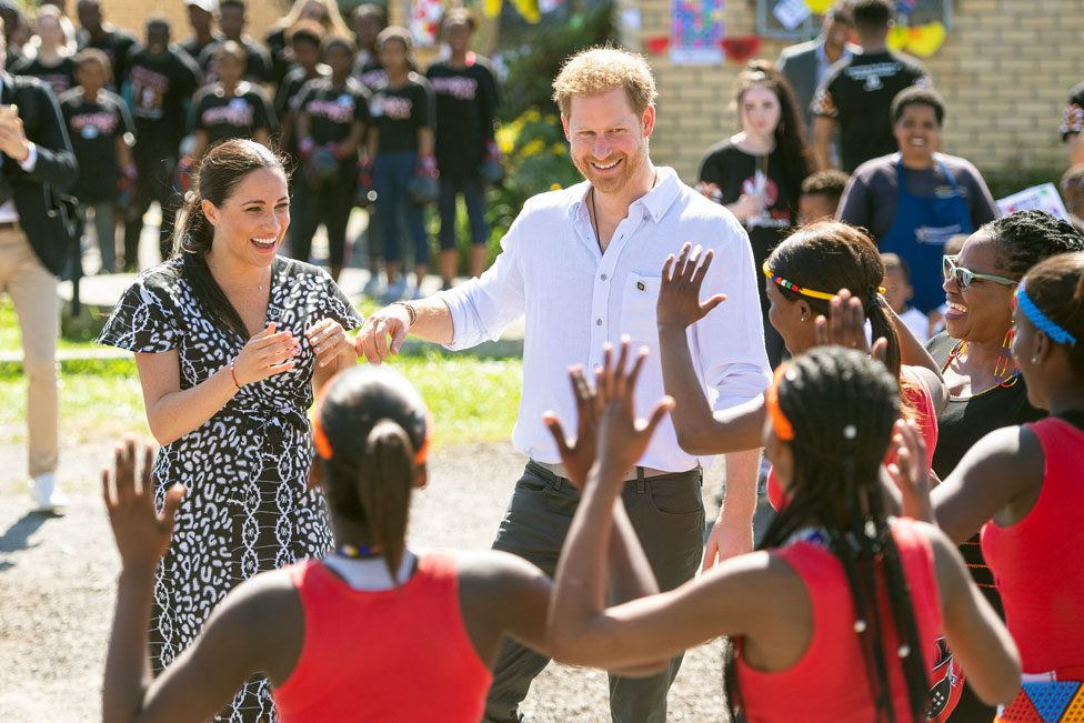 The Duke and Duchess of Sussex in South Africa
