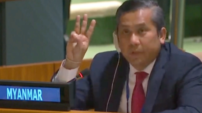 Myanmar's ambassador to the UN vows to fight