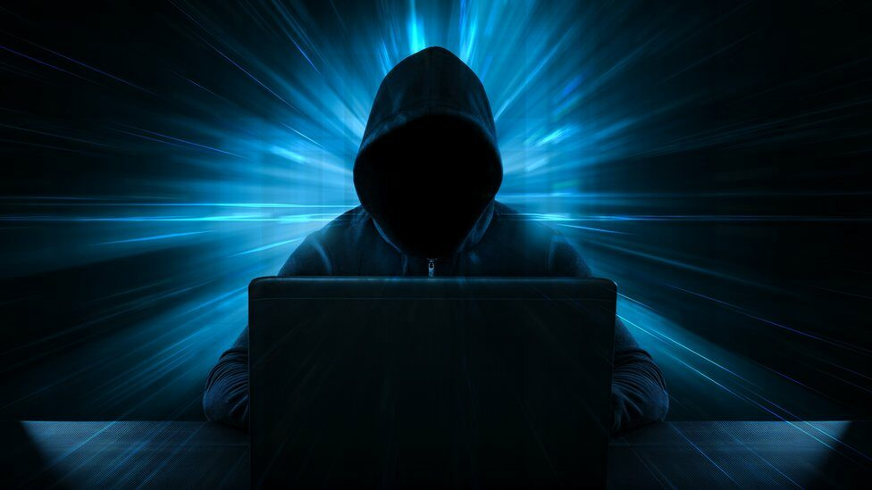 Creative image of hacker