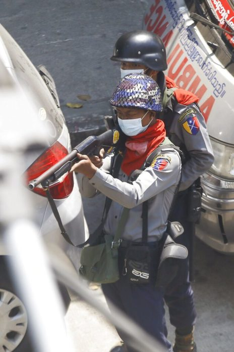 พม่ายกระดับต้านรัฐประหาร