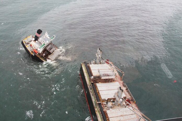 Cargo ships from Thailand