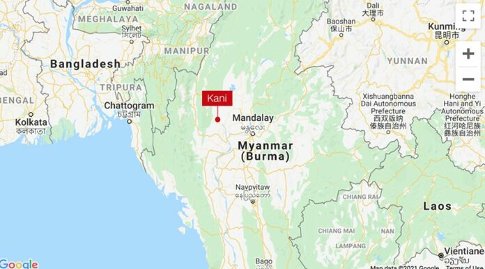 40 corpses buried in Myanmar forest
