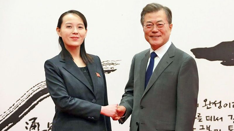 reiterated that South Korea chose by itself the opportunity to restore relations