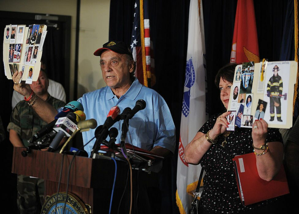 Families show images of their loved ones